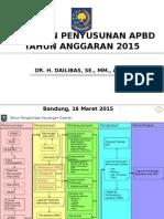 Pedoman Penyusunan APBD TA 2015