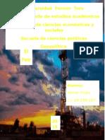 El Petroleo Como Valor Estrategico Para Vzla