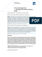 Identifikasi Pola Morfologi Kota (Studi Kasus