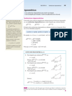 Sustitucion Trigonometrica