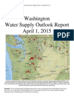 Washington Water Supply Outlook - April 2015