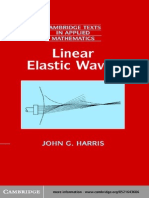 John G. Harris Linear Elastic Waves 2001