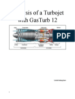 Analysis of a Turbojet with GasTurb 12