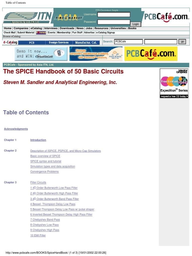 Electronic The Spice Handbook Of 50 Basic Circuits Pulse Width Modulator With Ne555 Timeroscillator Oscillator