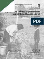 Gutman P. y Gutman G (1986) Agricultura Urbana y Periurbana en El Gran Buenos Aires
