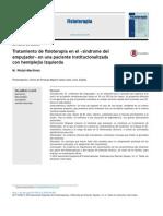 2014 Tratamiento de Fisioterapia en El _síndrome Del Empujador_ en Una Paciente Institucionalizada Con Hemiplejía Izquierda
