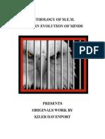 Anthology of M E M Modern Evolution of Minds Presents Original Works by Kiler Davenport