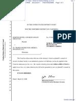 Kimpton Hotel and Restaurant Group Inc. v. St. Tropez - Homes for America Holdings, LLC et al - Document No. 7
