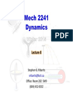 MECH 2241 (W2015) Lecture 08