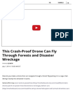 This Crash-Proof Drone Can Fly Through Forests and Disaster Wreckage _ Motherboard