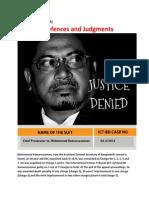 Kamaruzzaman-Justice Denied
