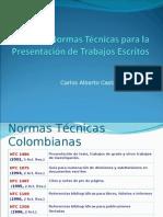 Normas Tecnicas Para Presentacion de Trabajos Escritos