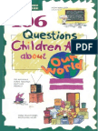 106 Questions Children Ask About Our World