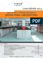 Catalogo Dabrielo Muebles de Laboratorio 2014