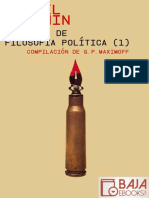 Escritos de Filosofia Politica - Mijail Bakunin