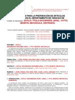 Formato Articulo Tecnico DECC