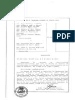 Resolucion Del Tribunal
