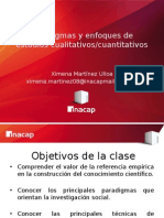 Clase Metodología de Investigación - Paradigmas y Enfoques
