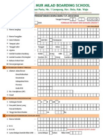 Formulir PPDB Nur Milad Boarding School 2015-2016