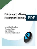 Estandares sobre diseño y funcionamiento de DataCenter