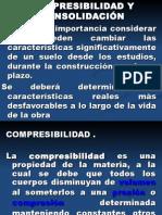 2.1 Compresibilidad y Consolidación