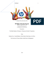 hp higher education research and proposal
