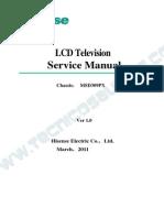 9619 Hisense Chassis MSD309PX Televisor LCD Manual de Servicio (1)