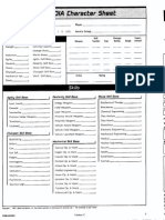 Paranoia 2nd Edition Character Sheet