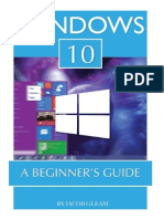 Windows 10 a Beginner's Guide - Jacob Gleam