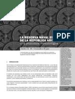 LA RESERVA NAVAL EN LA ARMADA DE LA REPÚBLICA ARGENTINA Una propuesta metodológica, por Isidro E. M. González Rojas