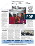 The Daily Tar Heel for April 9, 2015