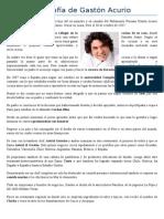 Biografía de Gastón Acurio