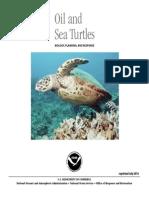 Oil Sea Turtles
