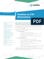 Vaultize as FTP Replacement Brochure