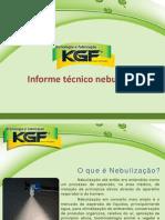 Informe tecnico para nebulização