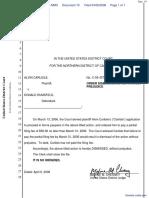 Carlisle v. Secretary Of Defense - Document No. 10