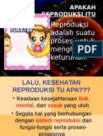 Penyuluhan Kesehatan Reproduksi Remaja