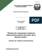 Reporte Estancias Cortas 2013-2