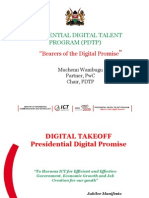 Chairman Presidential Digital Talent Program Muchemi Wambugu PDTP Report ConnectedEA2015 1-04-15