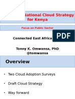 Head C4DLab UniversityofNairobi Dr Tonny Omwansa Cloud Infrastructure ConnectedEA 2015-01!04!15