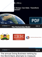 Research Scientist IBM Research Africa Dr.charity Wayua EaseofDoingBusinessReport ConnectedEA2015 1-04-15