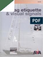 Flag Etiquette & Visual Signals