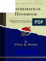 Mathematical Handbook