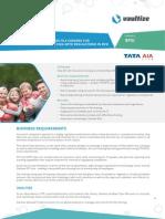 Vaultize Case Study - Tata AIA