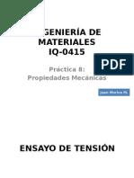 Práctica 8 Materiales