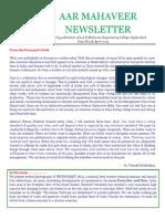 [18] AAR Mahaveer Newsletter April 2015