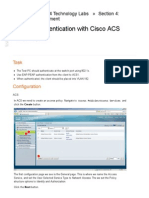 802.1x Authentication With Cisco ACS
