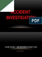 Aerodynamics Air Ontario 1363 (Final)