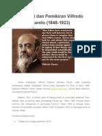 Biografi Dan Pemikiran Vilfredo Pareto