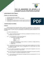 Criterios Agrupamientos y Asignación Tutorias